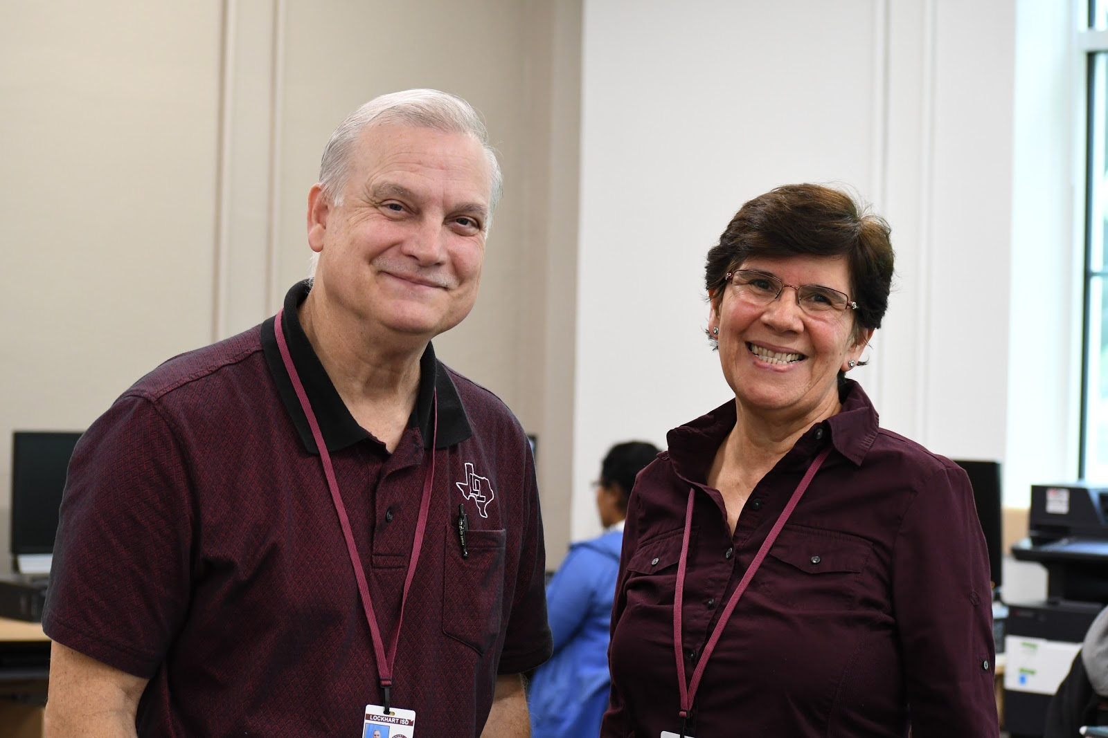 In photo: GED Instructors Norbert Vazquez & Piedad Dix