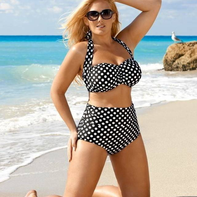 2. เลือกชุดว่ายน้ำสำหรับสาวอกใหญ่