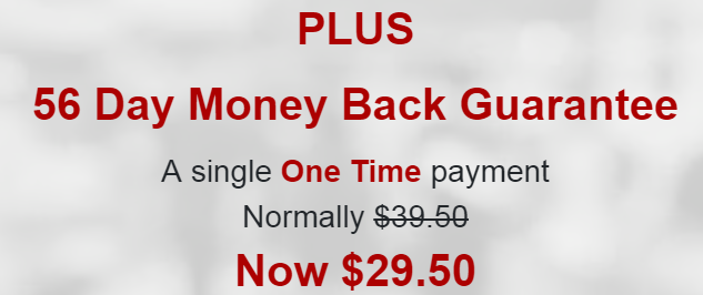Cash Juice Gives You A 56 Day Money Back Guarantee!