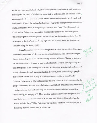 Example Of Essay Proposal  Protein Synthesis Essay also Essay Proposal Examples  Essays Allegory Of The Cave College Essay Paper