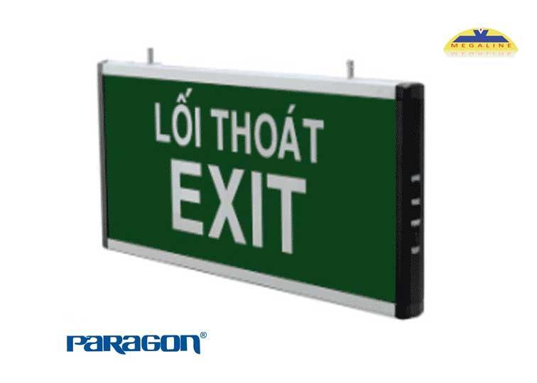Đèn exit dùng điện phát sáng