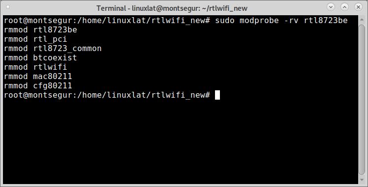 como instalar rtl8723be en linux
