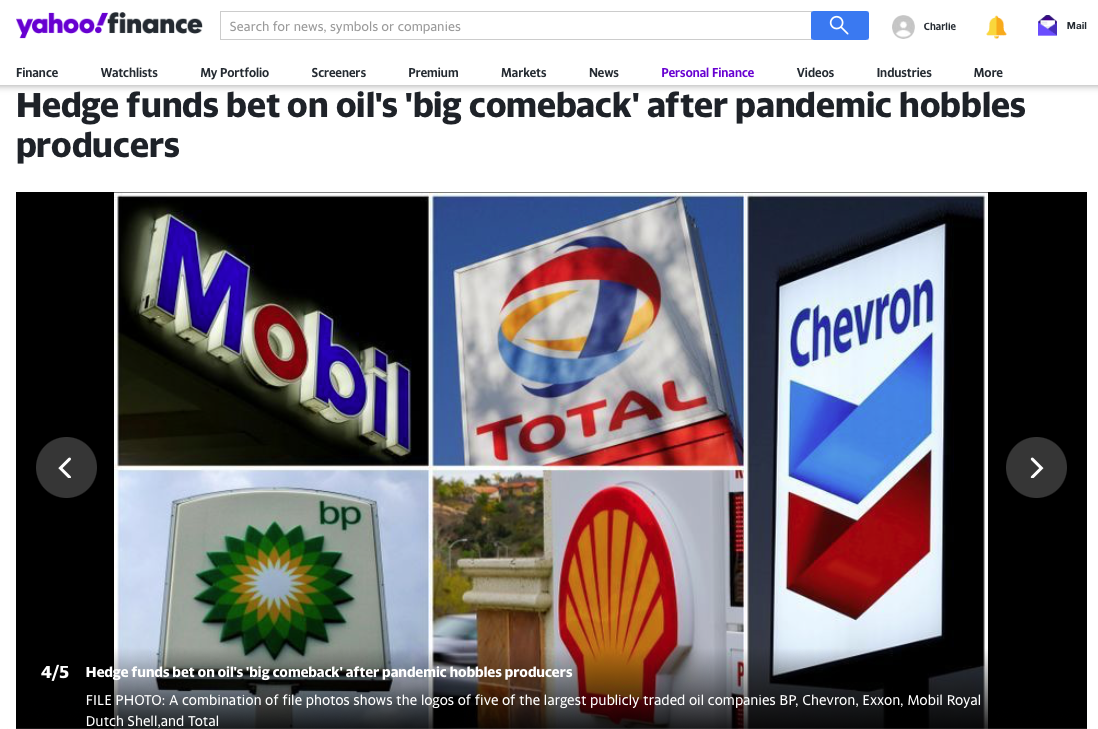 Oil and Gas Stocks: Hedge funds bet on oil's 'big comeback' after pandemic hobbles producers