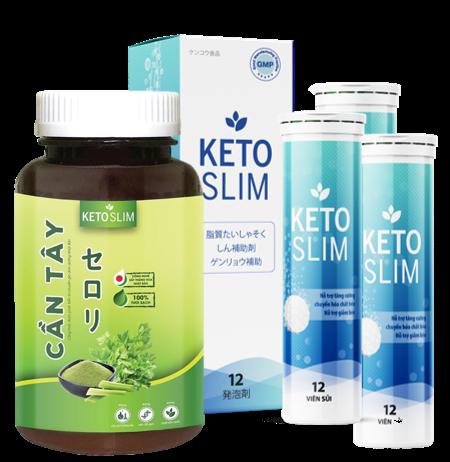 Viên sủi giảm cân Keto Slim giá bao nhiêu?