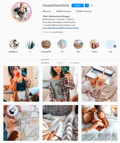 instagram nano influencer from Sway Group