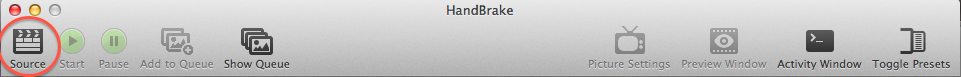 Handbrake Source Button Location.png