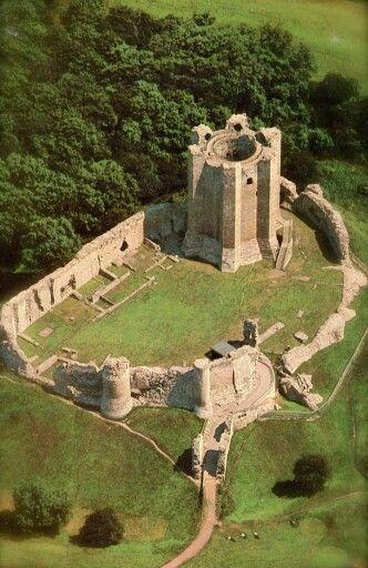 Conisbrough Castle ~ built in the 11th century, South Yorkshire, England: