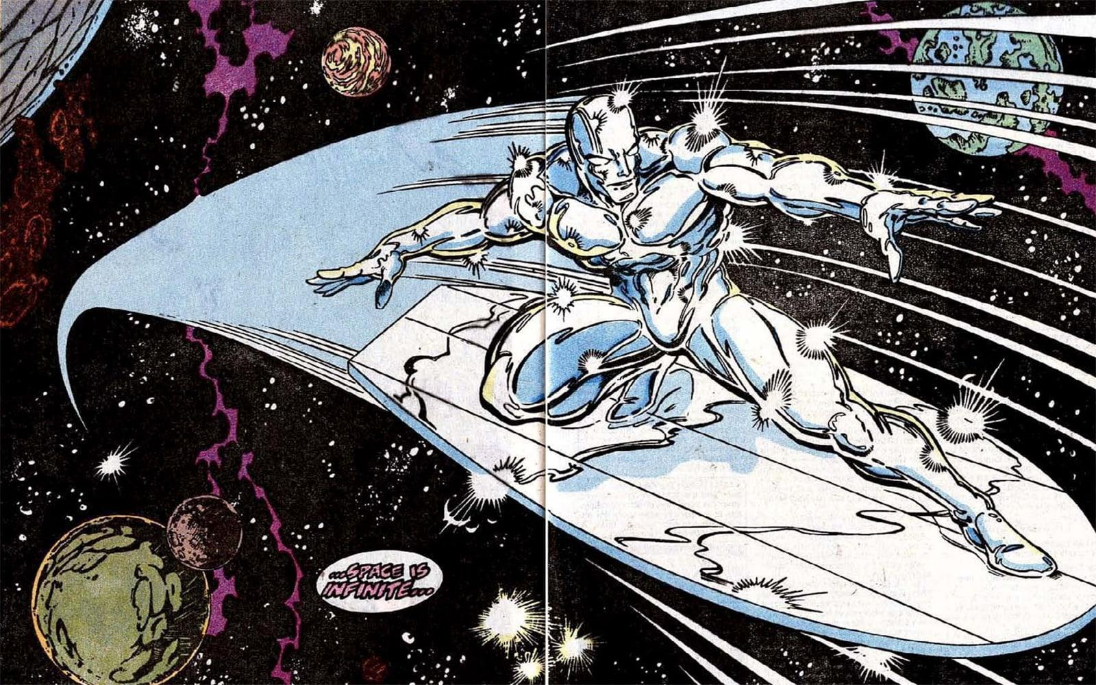 Image result for ron lim silver surfer