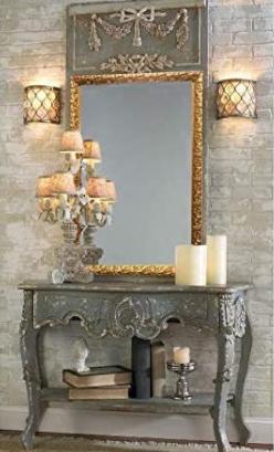 raphael rozen vintage mirror