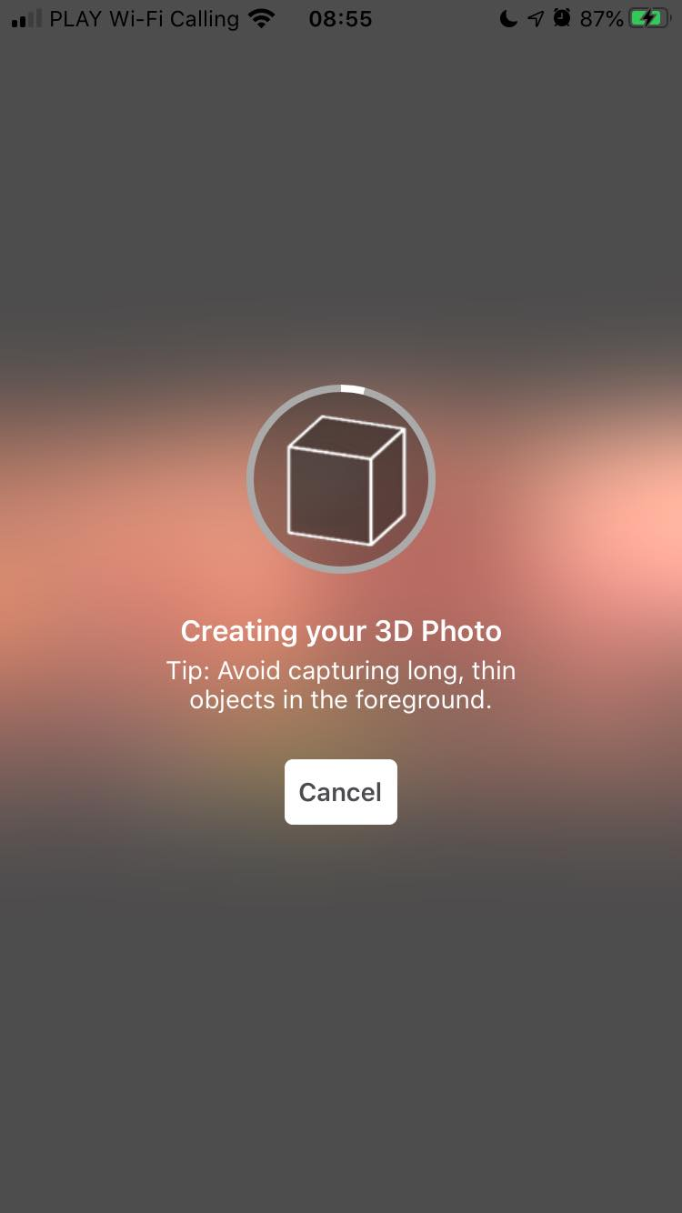 Facebook changes make it easy to create 3D photo now