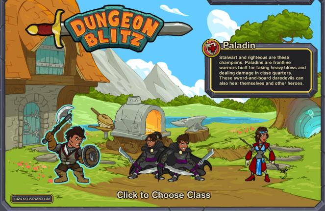 Dungeon Blitz
