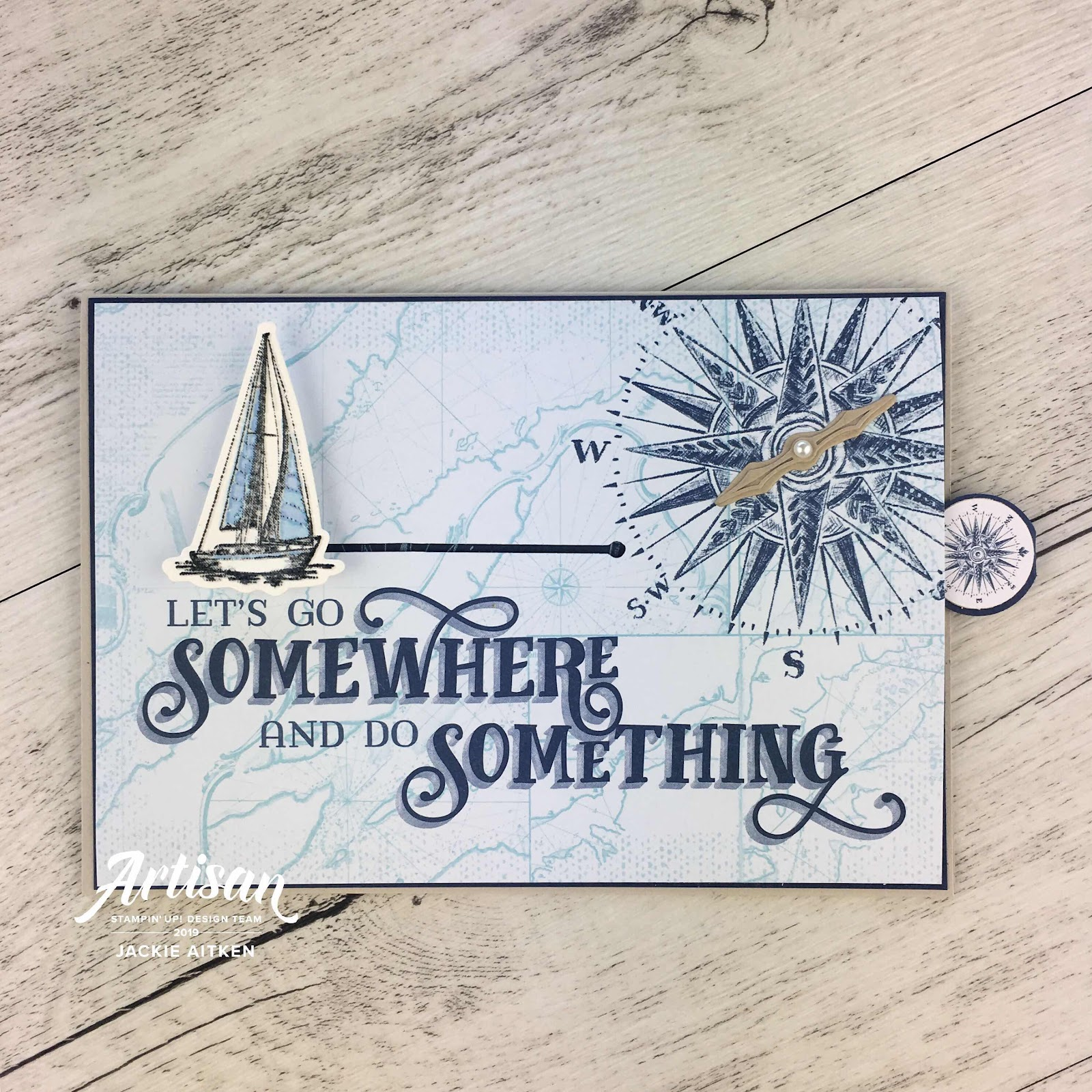 Jaxx Crafty Creations, Artisan Design Team 2019, Come Sail Away, Memories & More Card Pack, Nautical Creations, Shadow Box Card, Slider Card,