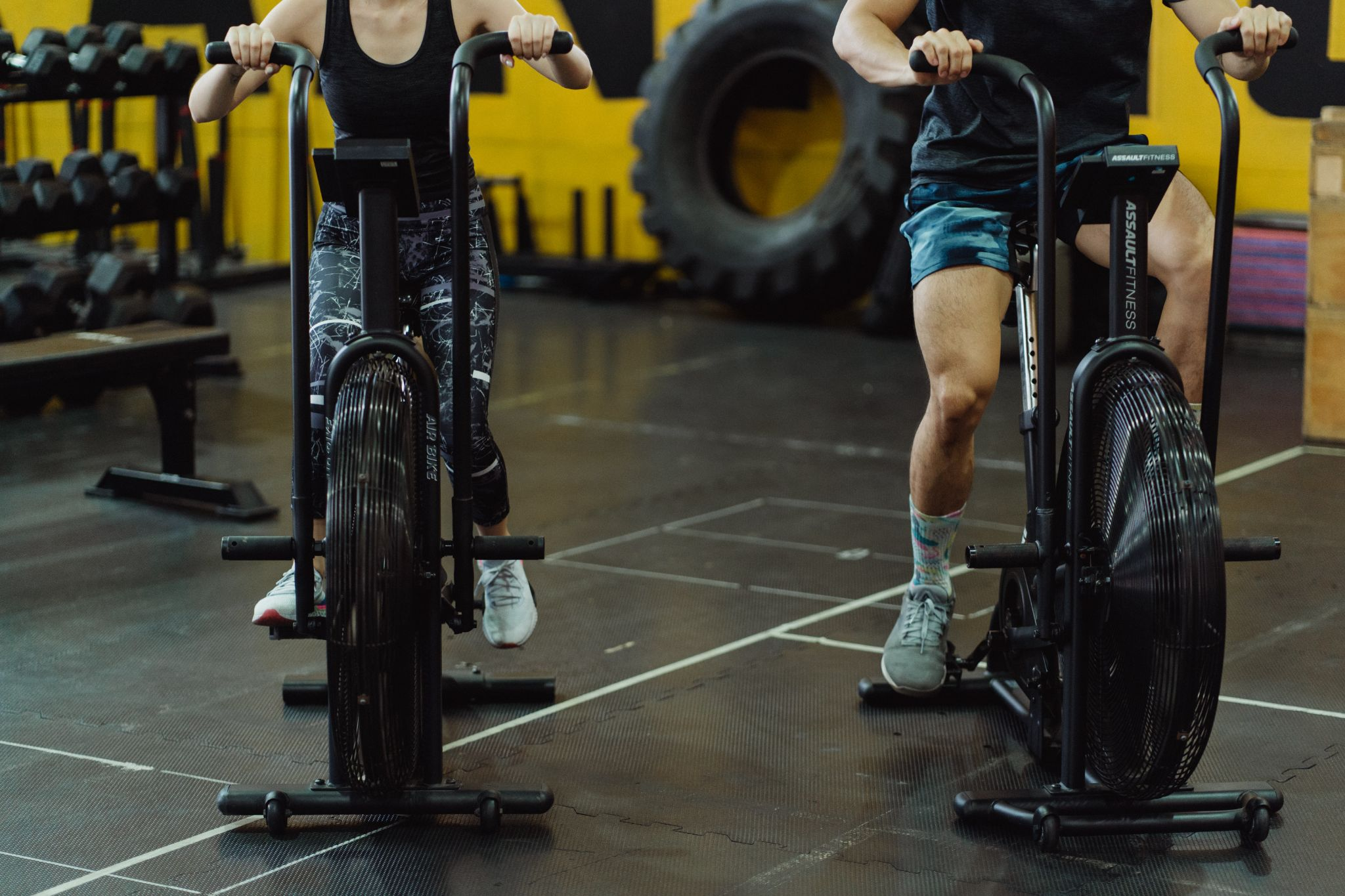 Exercise to manage cough might include cycling in the gym