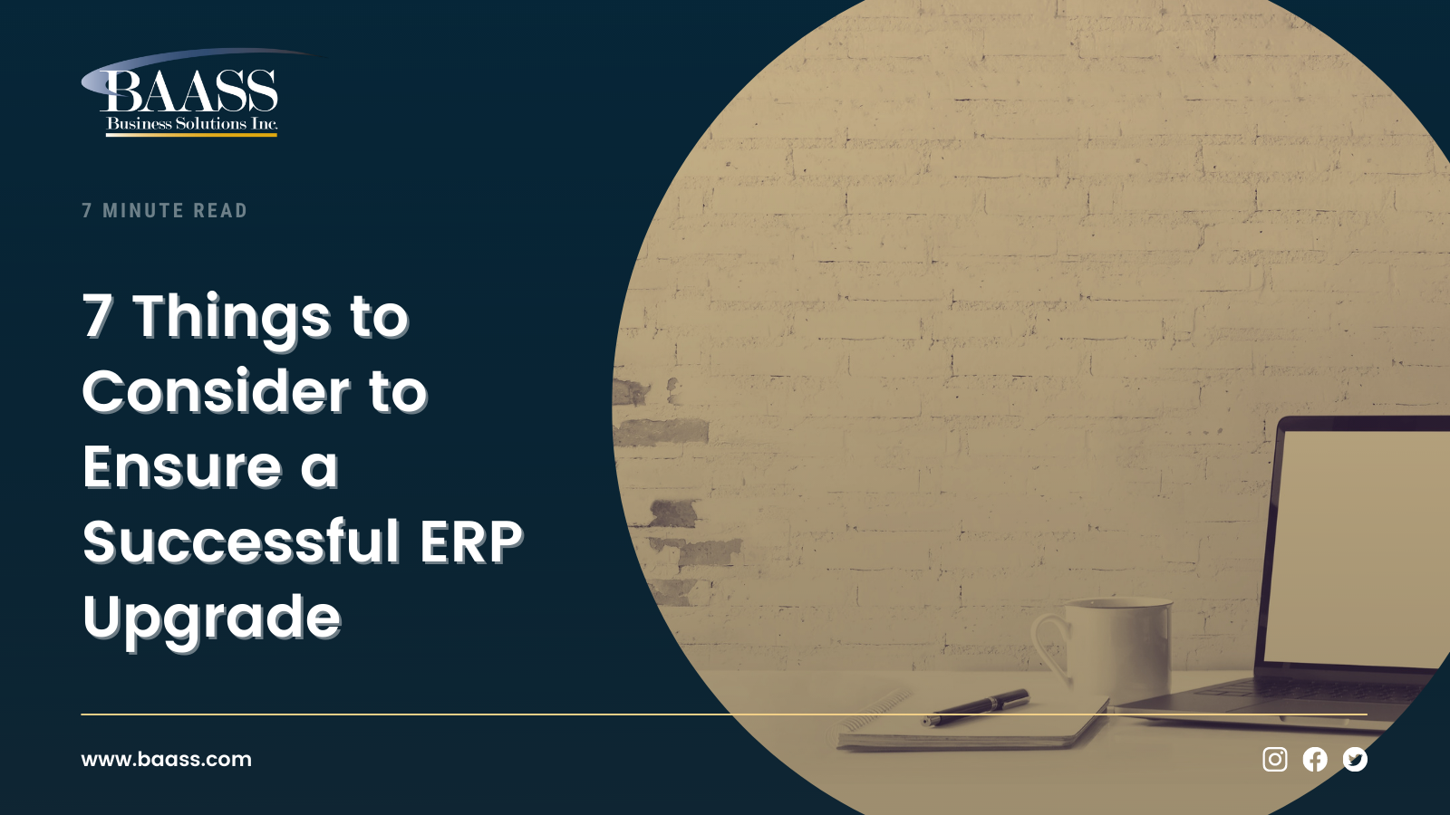 7 Things to Consider to Ensure a Successful ERP Upgrade