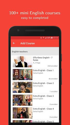 English Conversation Courses- screenshot thumbnail
