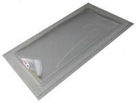 """Sun-Tek® SFMH 14"""" x 30"""" Clear Polycarbonate Surface Mount Skylight"""