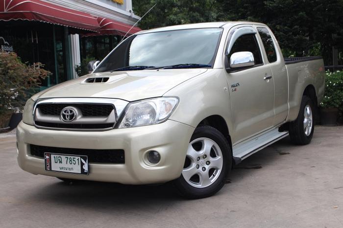Toyota Hilux Vigo โฉมไมเนอร์เชนจ์ ได้เครื่อง VN turbo และแค็ปเปิดได้