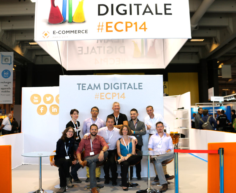 La Team Digitale au Salon E-Commerce Paris