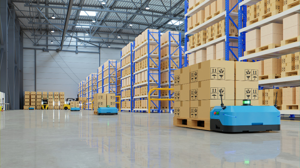 stock management in amazon warehouse