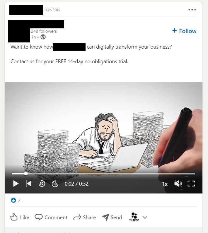 posting media,linkedin posts
