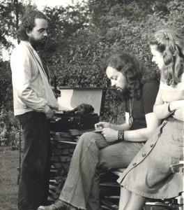 acques Vassal ici en compagnie d'Alan et de Marie-Jo Stivell (photo A. Leauté)