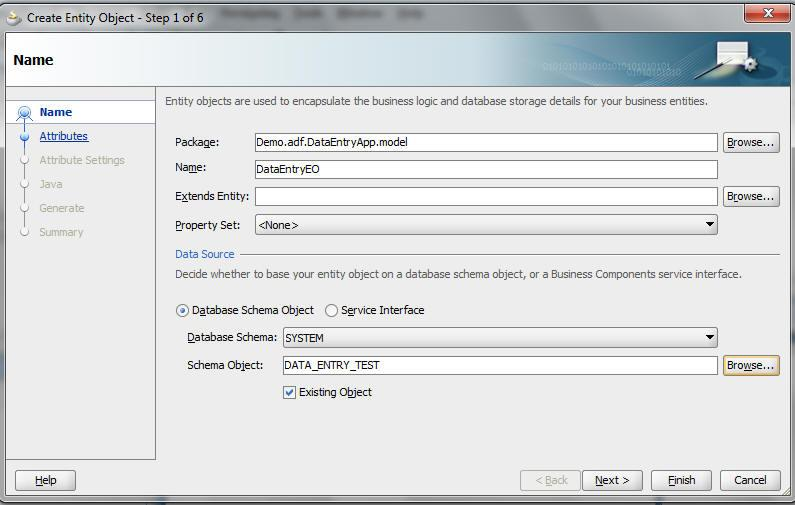 how to create data entry software