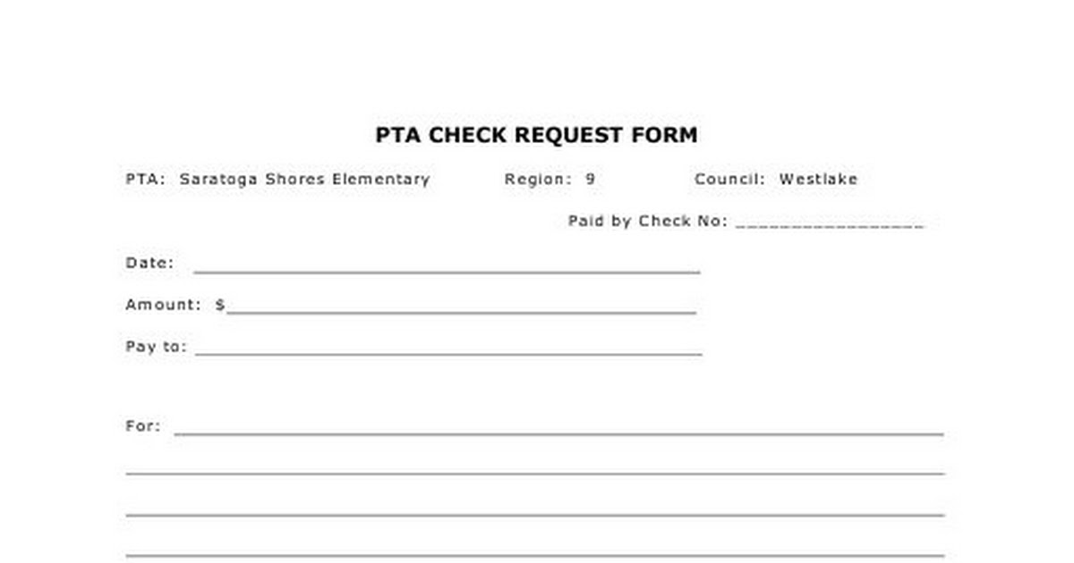 Check Request Form  Google Drive