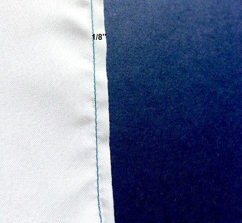 como coser una puntada de costura francesa
