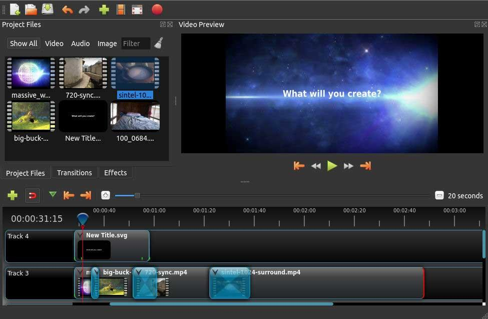 OpenShot (Video Editing Software with No Watermark)