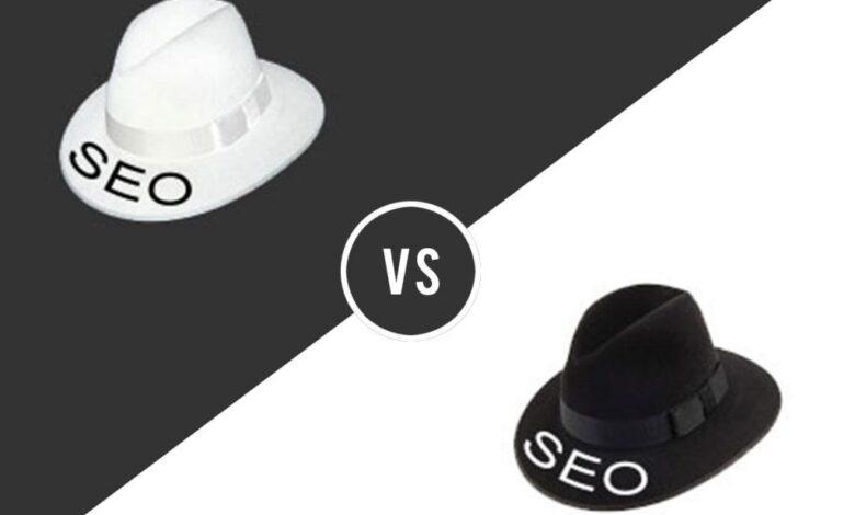 آموزش سئو کلاه سیاه و کلاه سفید
