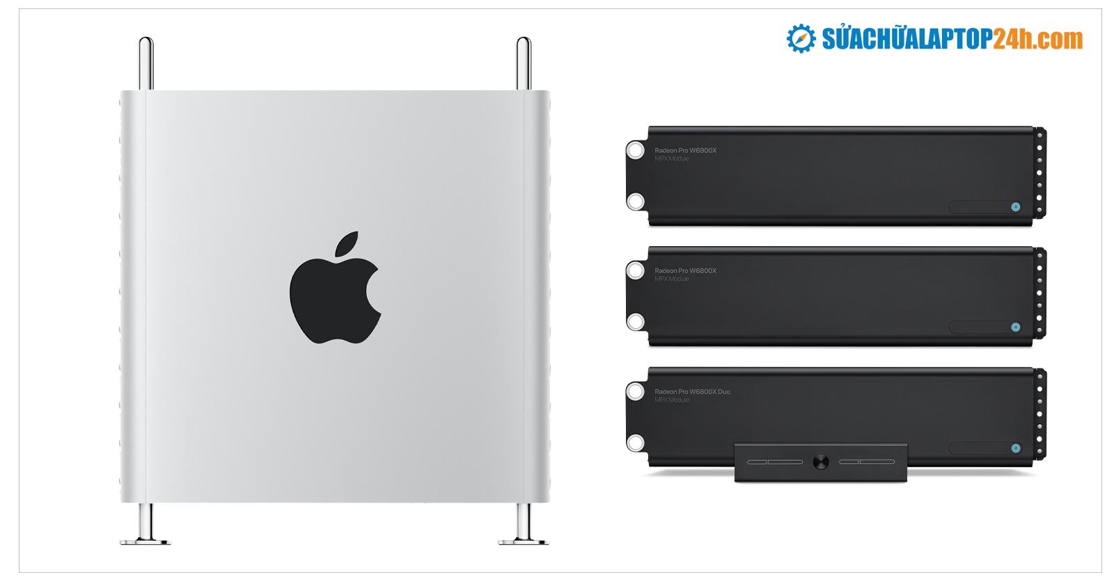 Apple hỗ trợ Mac Pro với ba card đồ họa AMD mới