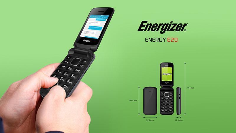 Điện thoại di động Energizer Energy E20 - Chính hãng giá rẻ - Hoàng Hà  Mobile