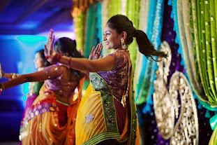 indian dance smile