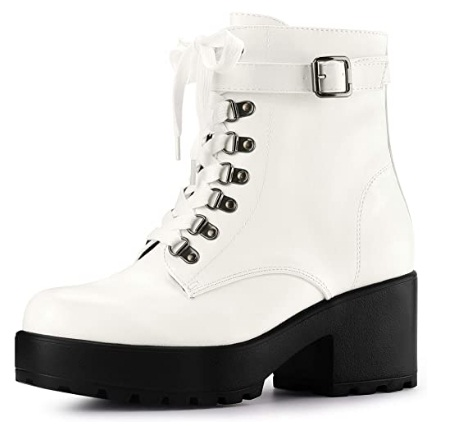 Best White Combat Boots For Women
