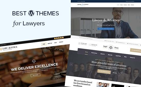 Chủ đề WordPress tốt nhất cho luật sư và các công ty pháp lý