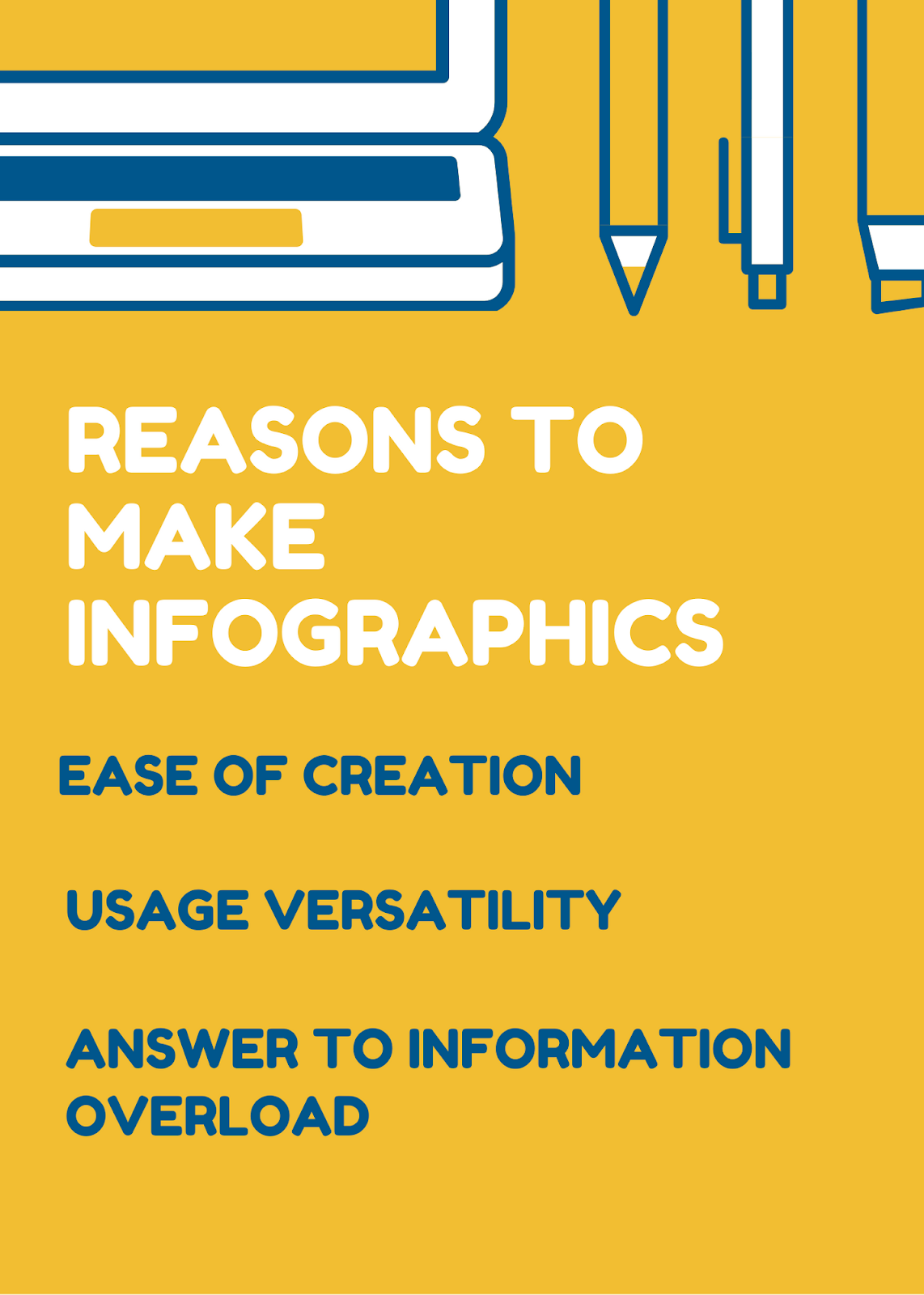 steps in creating infographics