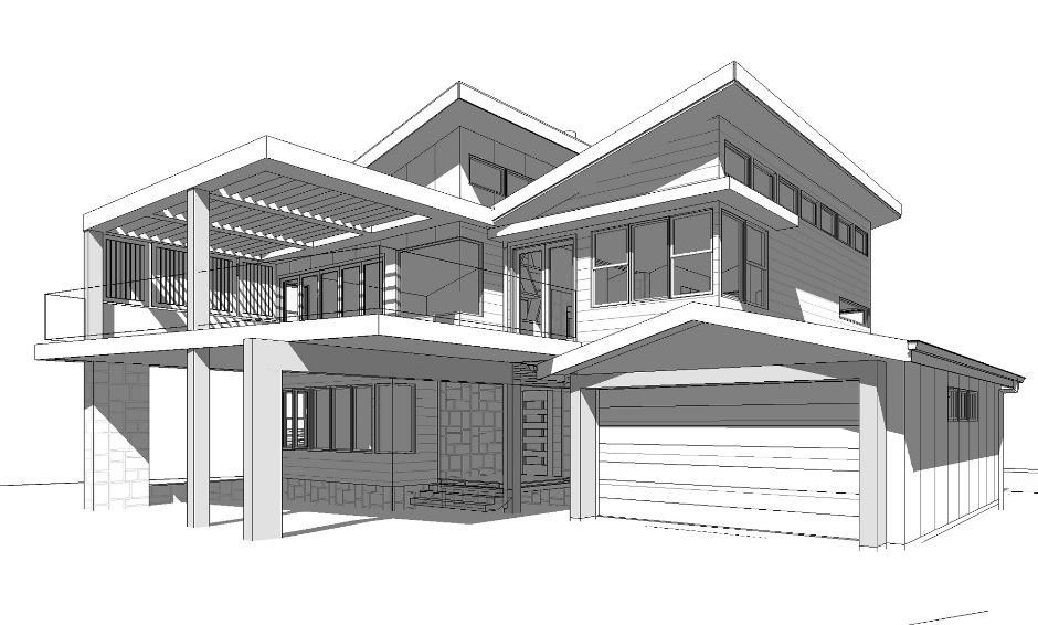 Dạng bản vẽ thiết kế kiến trúc đơn giản