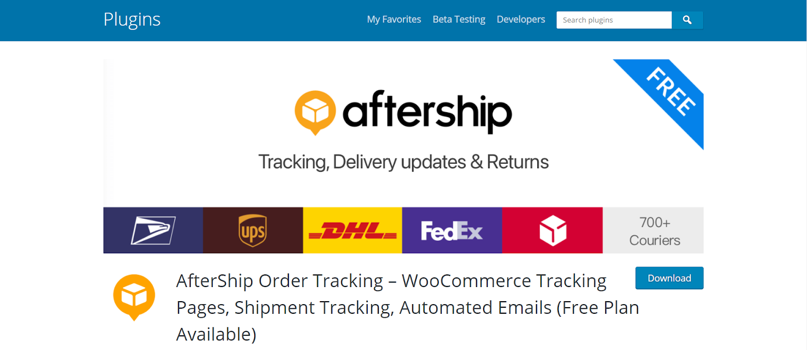 aftership, woocommerce shipping plugins