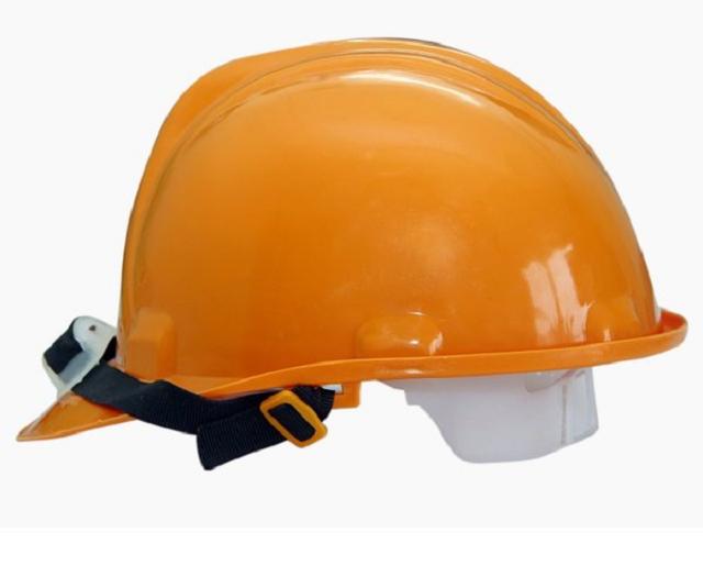 Nón bảo hộ lao động có cấu tạo gồm 3 phần: phần vỏ, đai nón và quai nón