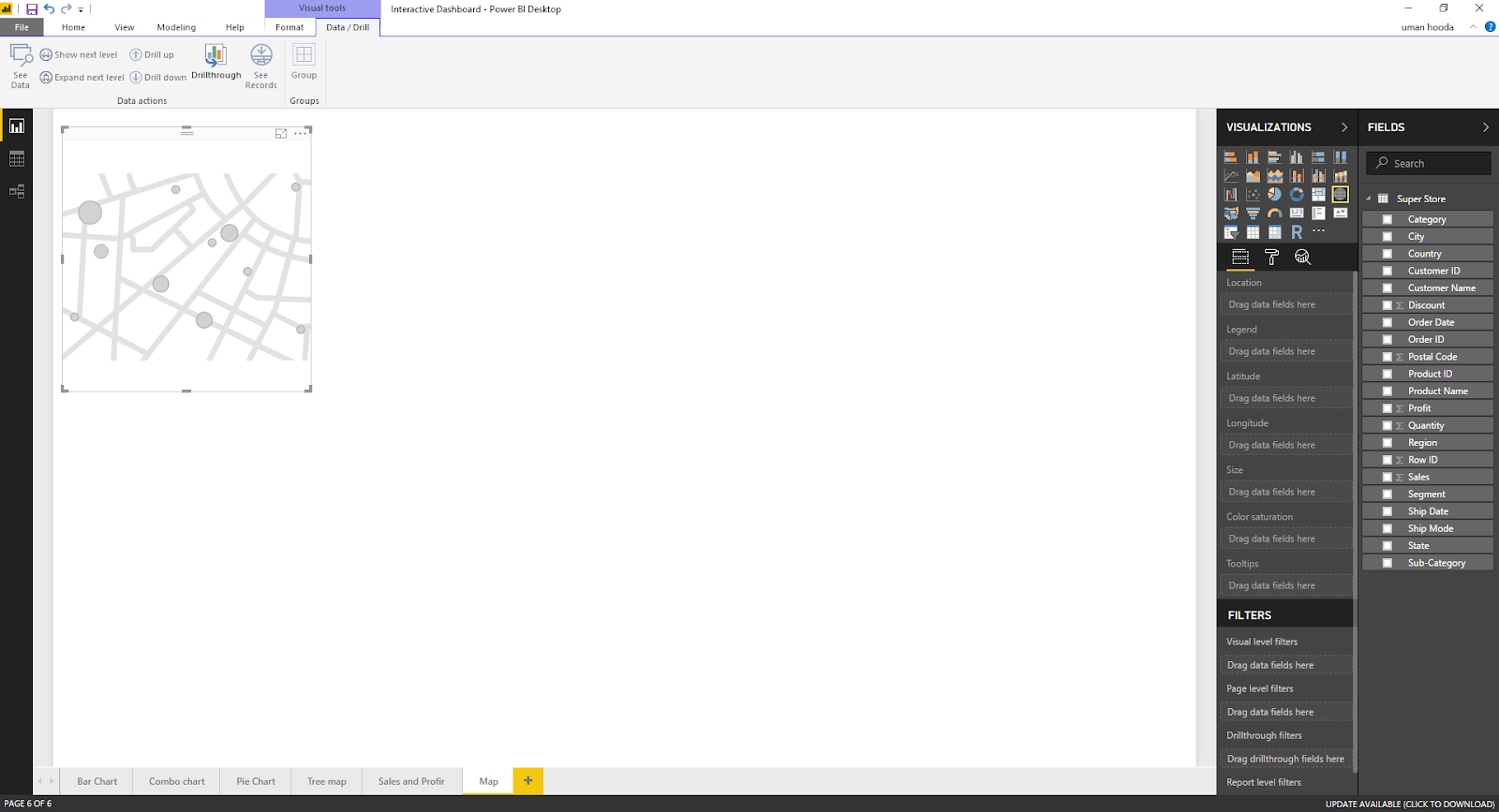 Interactive Dashboard In Microsoft Power BI 47