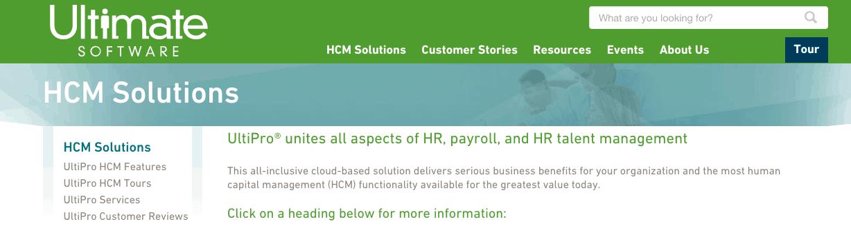 Ultipro HR - HCM Solutions