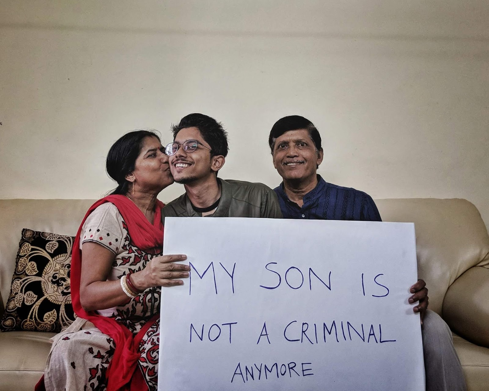 Sec 377 - LGBT community. My son is not a criminal anymore says ...