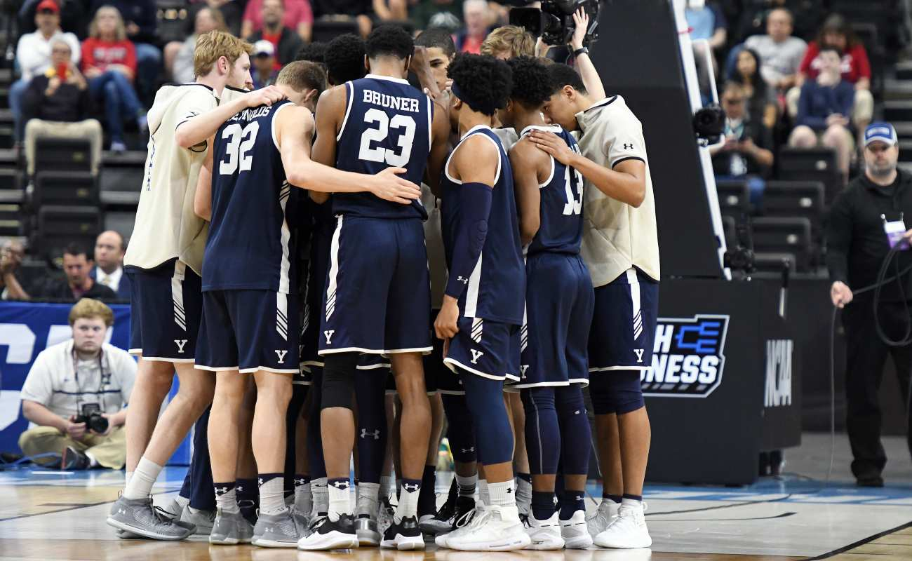 Yale Basketball NCAA Tournament