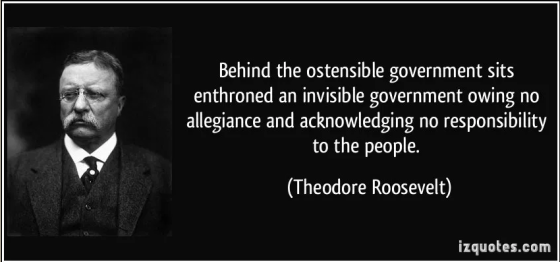 quote behind the ostensible government sits enthroned an invisible government owing no allegiance and theodore roosevelt 158023 From the Trenches World ReportFrom the Trenches World Re