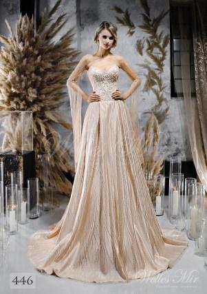 свадебные платья цвета шампань оптом