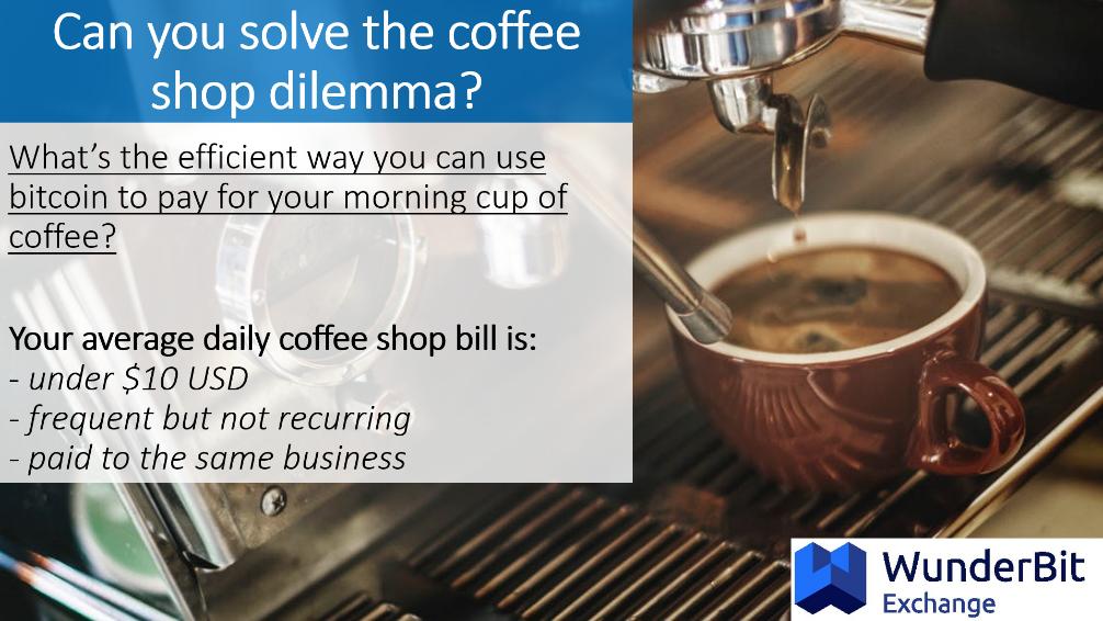 coffee shop dilemma