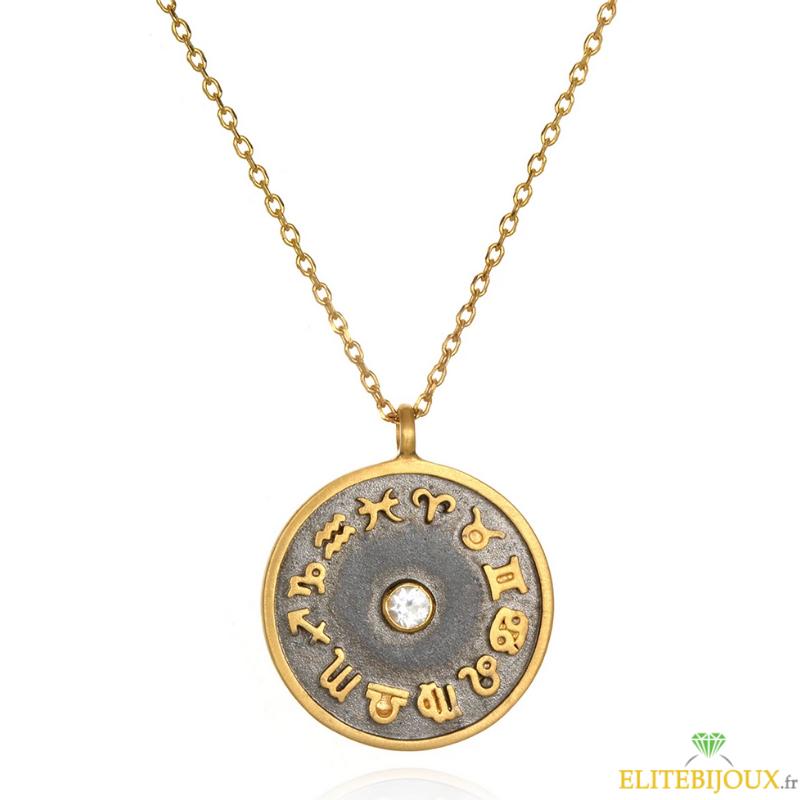 collier signe astrologique