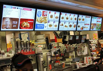 international mcdonald's menus digitalized
