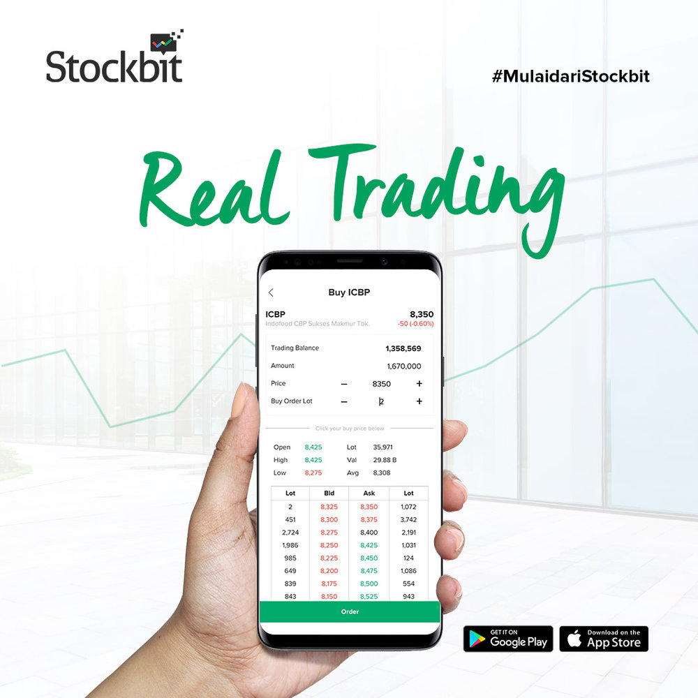 Aplikasi trading online dari Sinarmas Sekuritas Stockbit
