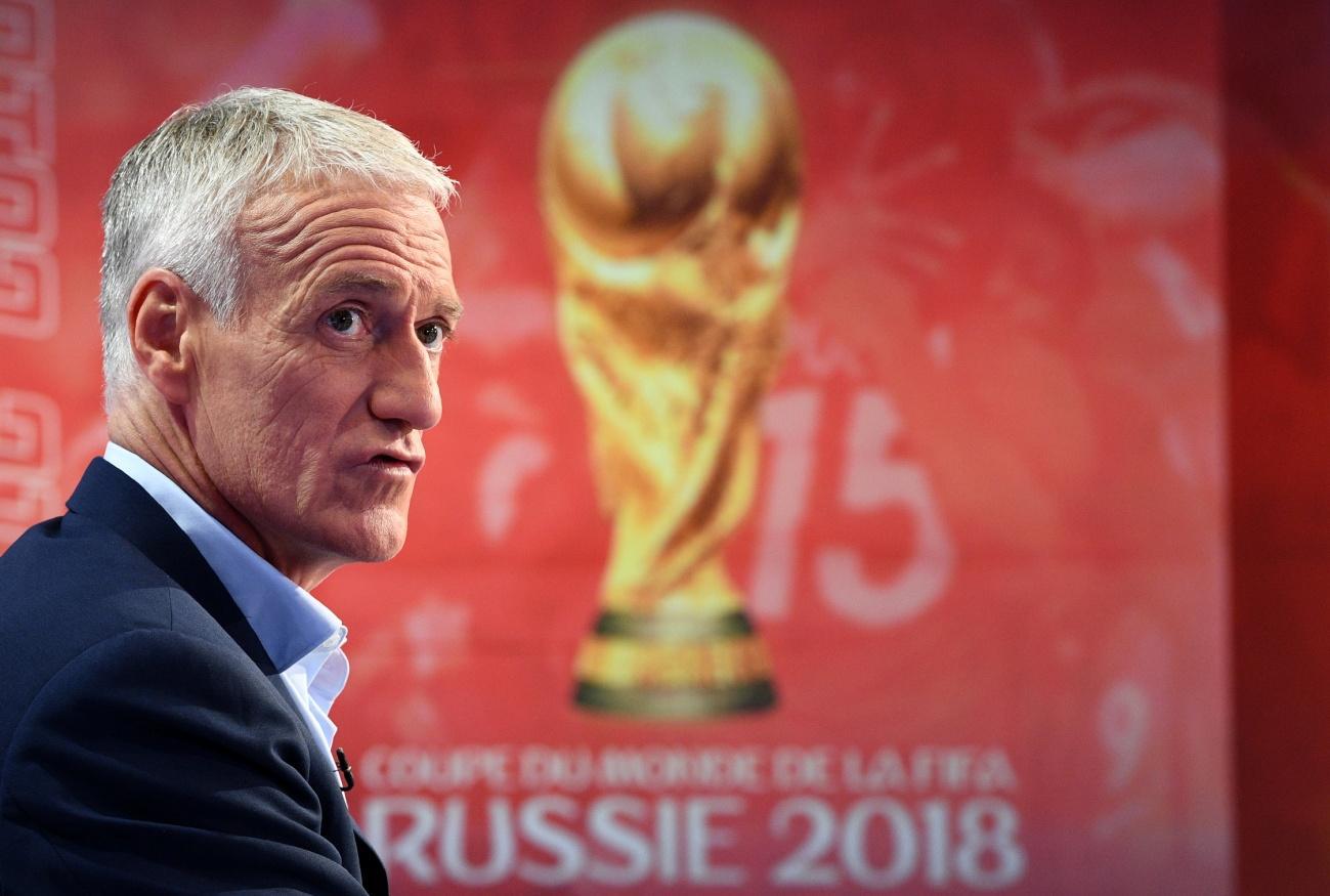 C:\Users\Carla\Desktop\Copa do Mundo 2018 - RUSSIA\Didier Deschamps fez o anúncio dos 23 convocados na tarde desta quinta-feira Foto Franck Fife - AFP.jpg